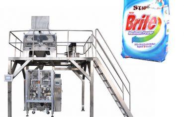 4 सिर रैखिक weigher डिटर्जेंट वाशिंग पाउडर पैकिंग मशीन