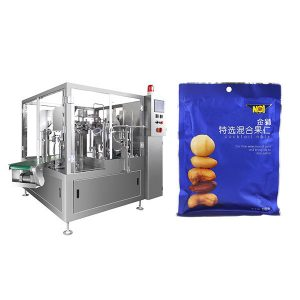 सॉलिड पाउडर या सॉलिड के लिए स्वचालित भरने वाली सीलिंग पैकेजिंग मशीन