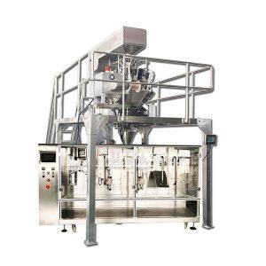 स्वचालित क्षैतिज पूर्व निर्मित ग्रैनुलर पैकेजिंग मशीन
