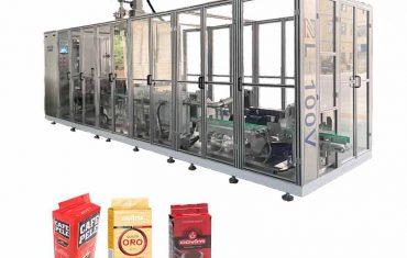 स्वचालित रैखिक प्रकार ईंट वैक्यूम बैग पैकेजिंग मशीन