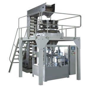 स्वचालित Premade Granule उत्पादन लाइन भरने और सील वजन