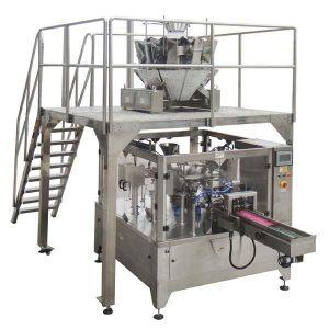 रोटरी स्वचालित जिपर बैग बीज नट्स के लिए सील पैकिंग मशीन भरें