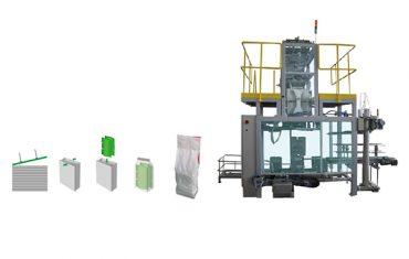 माध्यमिक पैकेजिंग बैग polywoven बैग पैकिंग मशीन