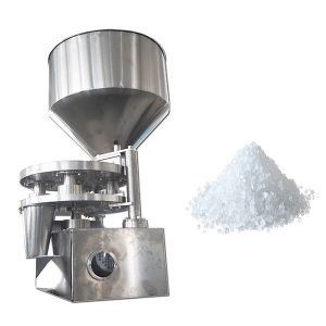 वॉल्यूमेट्रिक कप खुराक भोजन, खुराक के लिए मशीन भरना