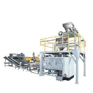 पाउडर के लिए जेडटीसीपी -50 पी स्वचालित बुना बैग पैकिंग मशीन